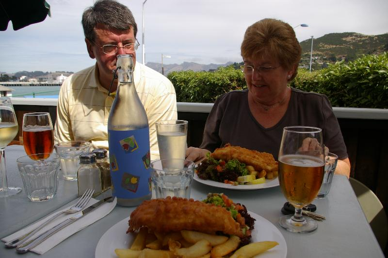fish and chips in Christchurch NZ